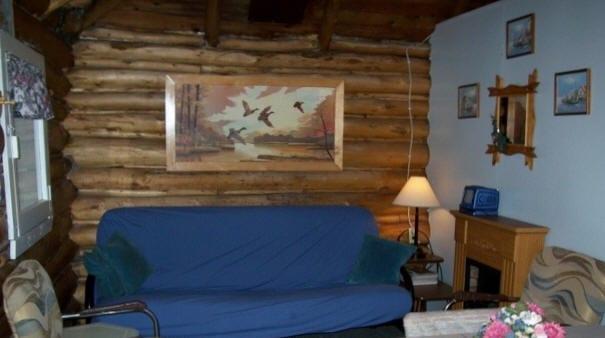 Cabin 2 living room.