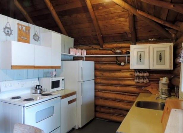 Cabin 2 kitchen.